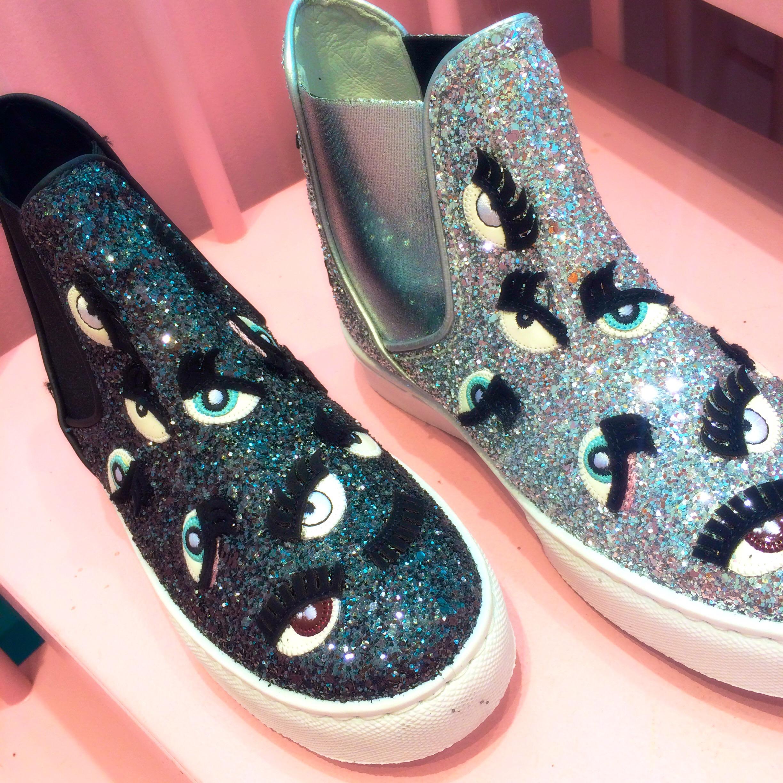 glitter,chiaraferragni,shoes,mode,tendance,look